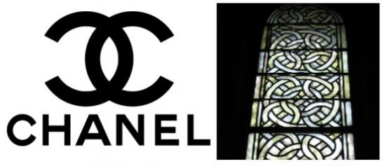 The origin of the Chanel logo. Page 1