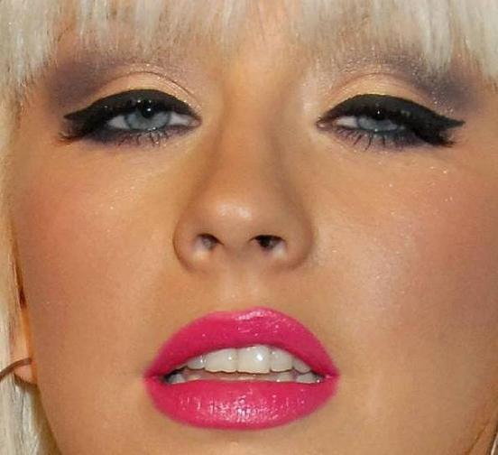 Кристина агилера макияжа