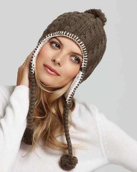 Вязание шапки с ушками женские спицами с описанием картинки... Девушки и женщины, которые не любят вязаные шапки
