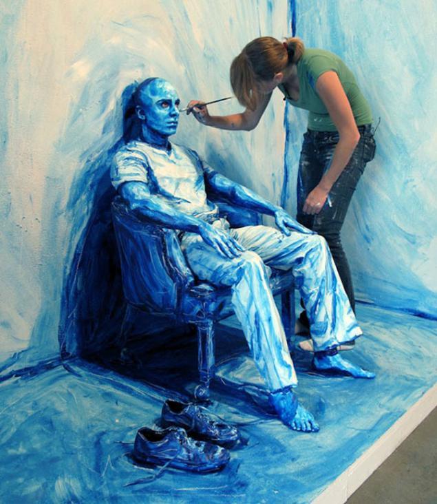 Художники которых рисуют людей