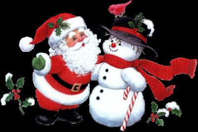 картинки нарисованные дед мороз и снегурочка