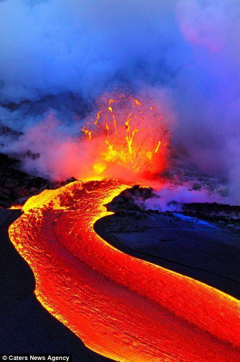 Underwater volcanic eruptions. Page 1