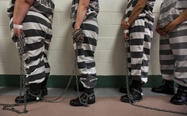 Resultado de imagen de presos encadenados