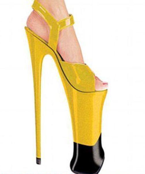 Туфли на самом высоком в мире каблуке, фото
