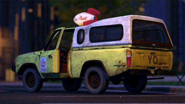 比萨星球卡车
