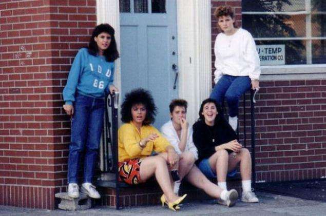photo of girls 80's style № 1262