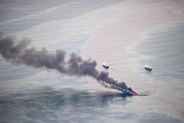 фото катастрофы в мексиканском заливе