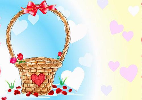 Открытки с днём святого валентина флеш 1