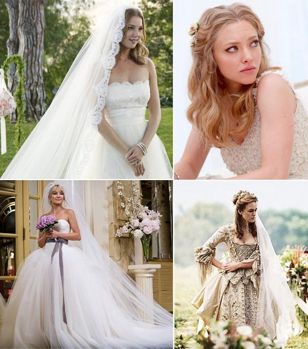 mejor vestidos de novia mundo del cine. página 1