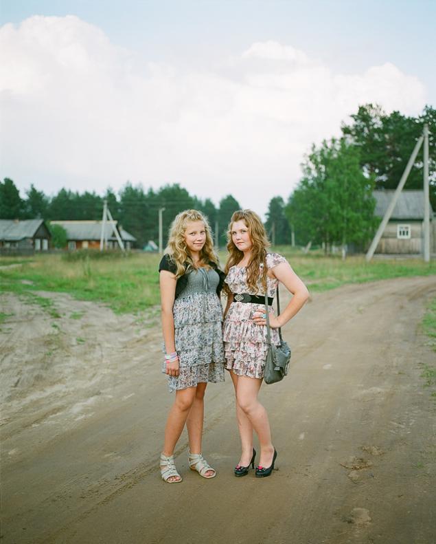 фото простых деревенских девушек