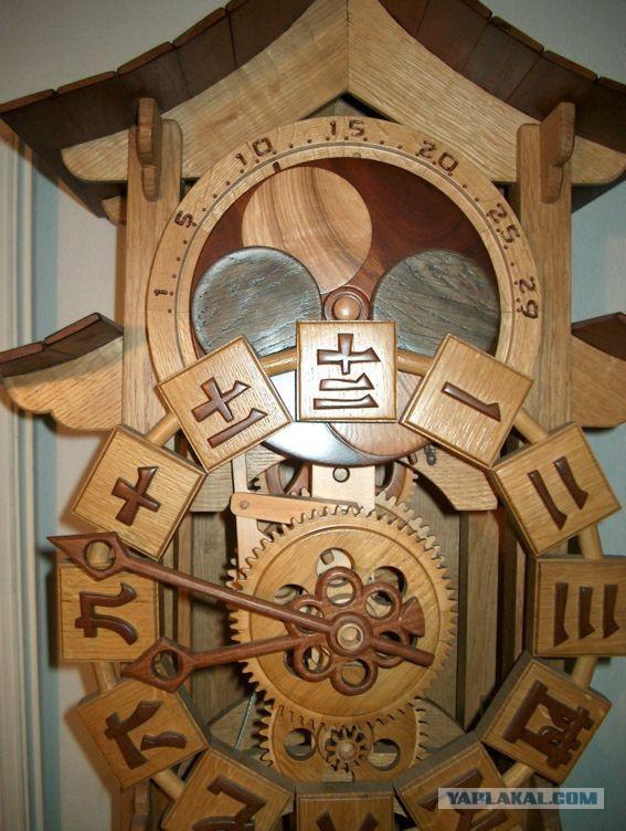 Часы механические своими руками