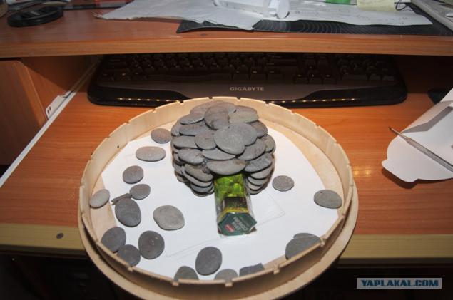 Как сделать камни для аквариума своими руками