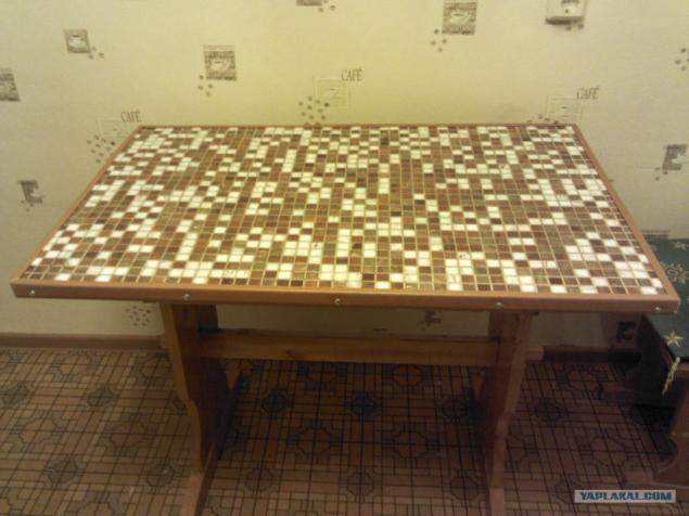 Новый стол из старого своими руками