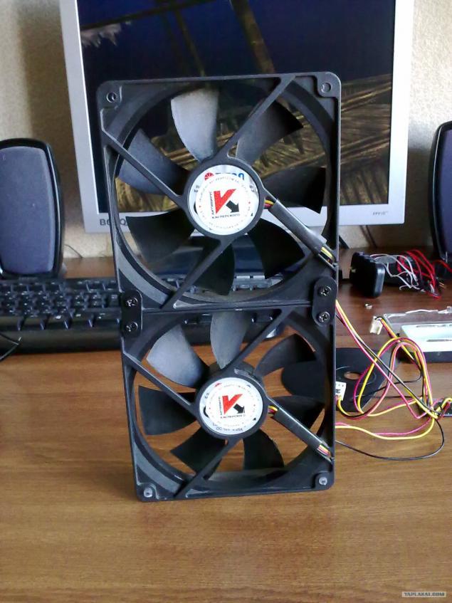 Как из кулера сделать вентилятор через usb 344