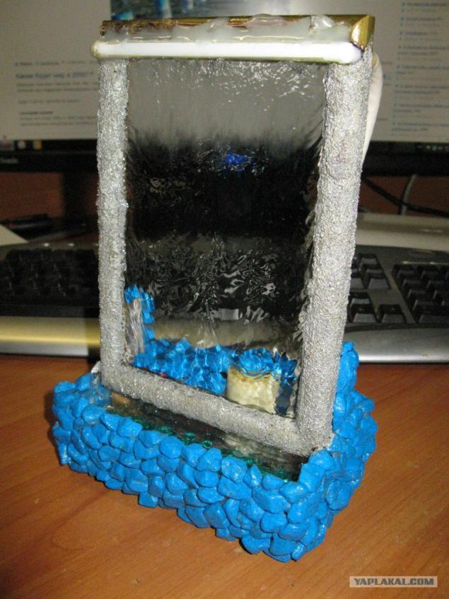 Как сделать настольный фонтан