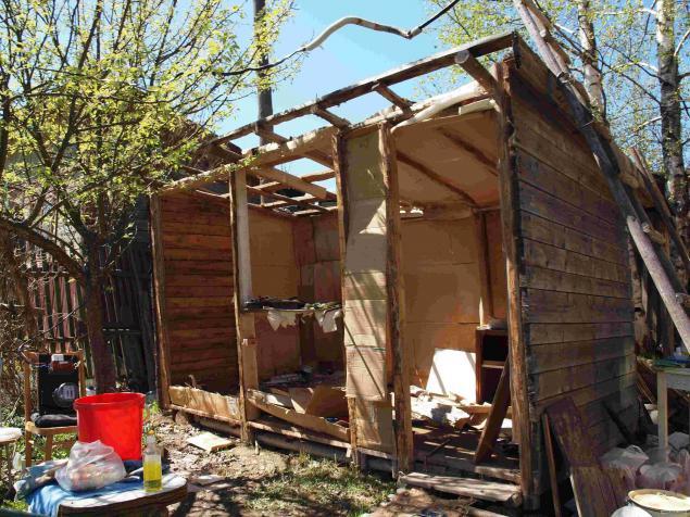 Как я строил дачный домик