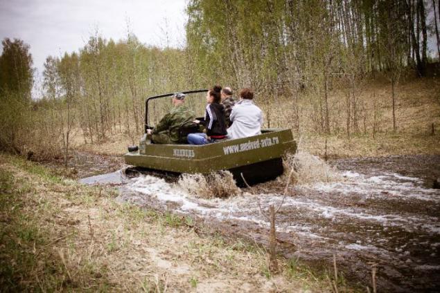 гусеничные вездеходы для охоты и рыбалки
