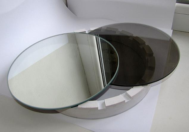 Как самому сделать полупрозрачное зеркало