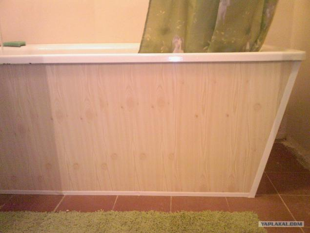 Экран для ванны из пвх панелей