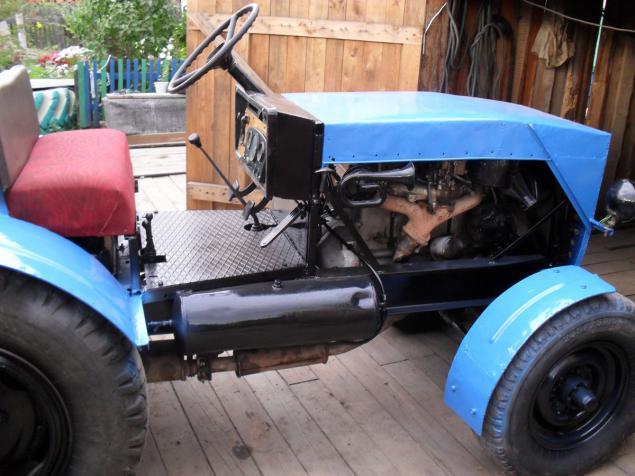 Трактора изготовлен своими руками 907