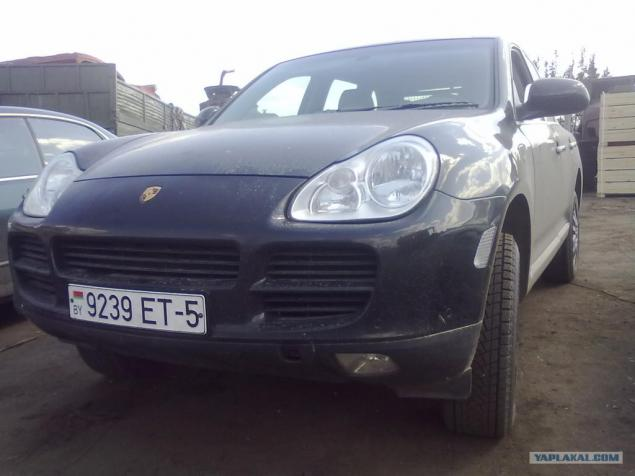 Porsche Cayenne Diesel from Belarus  Page 1