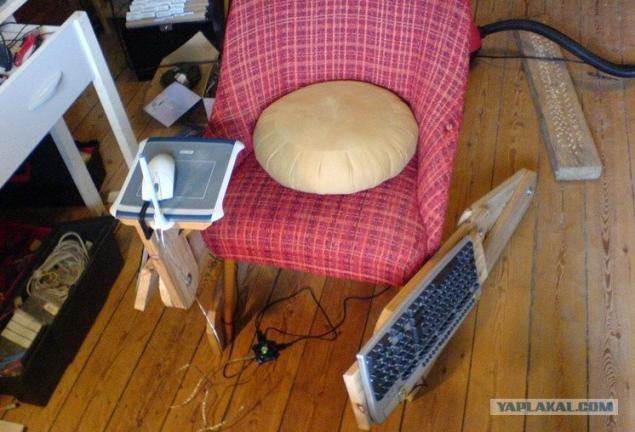 Сделать стул для компьютера своими руками