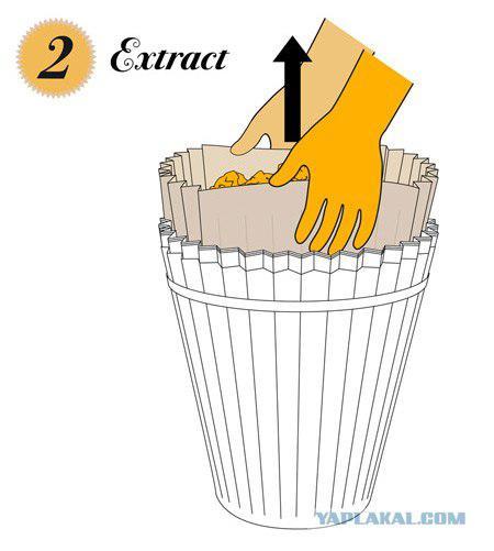 Как сделать мусорное ведро для бумаги 858