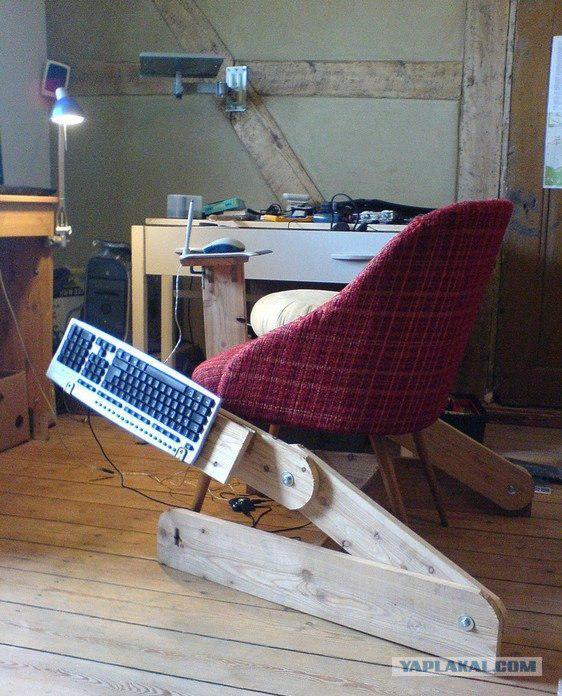 Как сделать кресло своими руками для компьютера 87