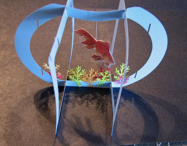 Как сделать аквариум с рыбами 510