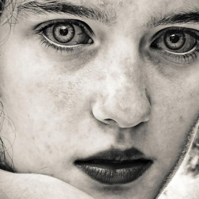 черно белые фото лица людей