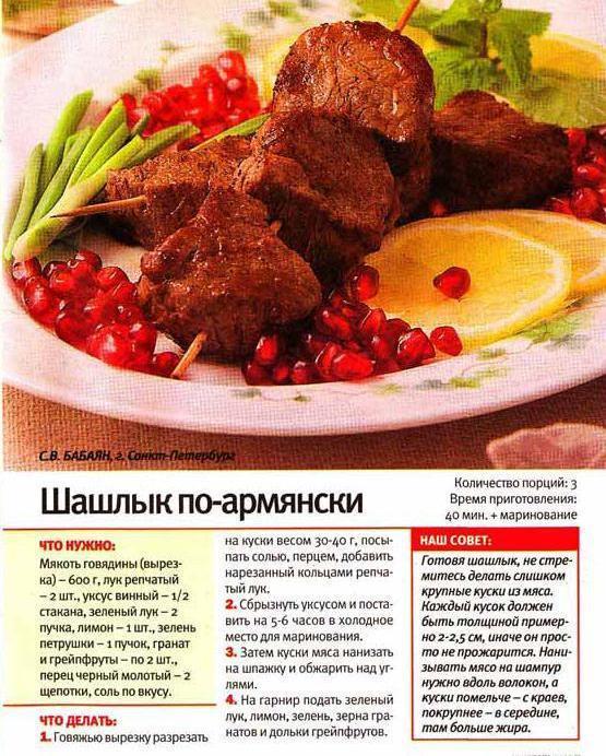 Шашлыки 120 рецептов  фото рецепты  ГотовимРУ
