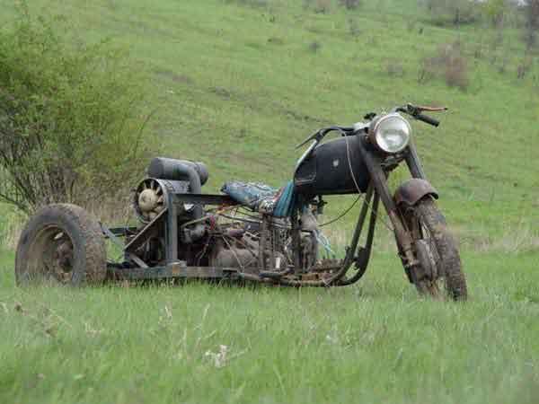 Мотоцикл собранный своими руками