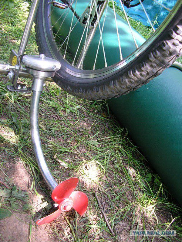 устройство водного велосипеда с гребным колесом татуировка виде