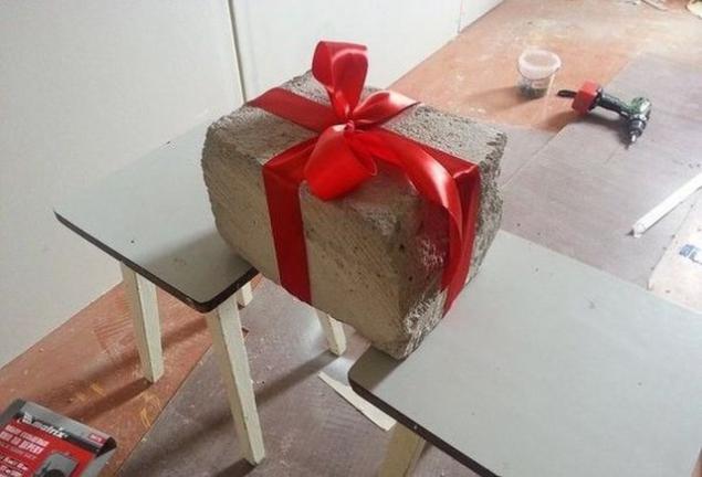 Креативный подарок молодоженам своими руками
