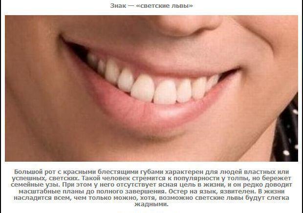 Почему маленькая верхняя губа