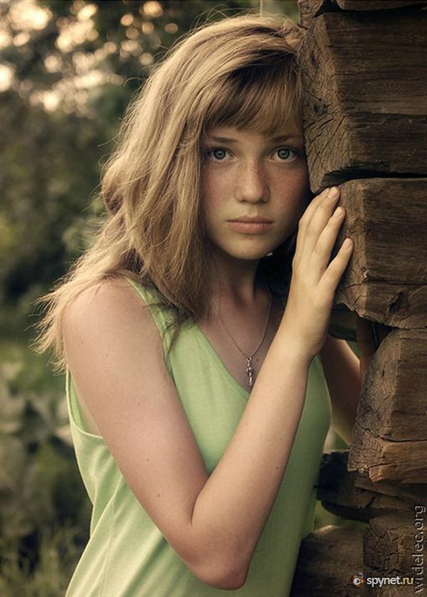 фото молоденькие ню