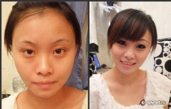 Asian girls without makeup