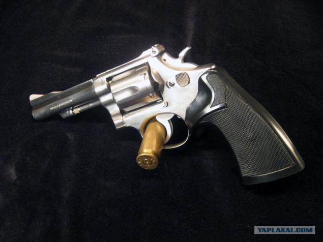 Revolver Smith & Wesson. Página 1