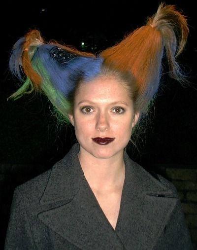 Необычные причёски для девушек