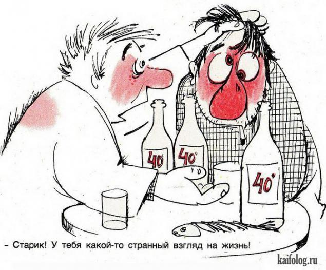 Алкоголизм в картинках и рисунках
