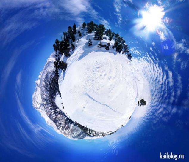 Как сделать шар из панорамы
