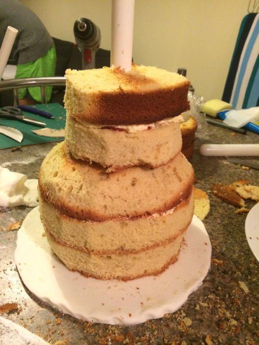 3 д торт с рецептом