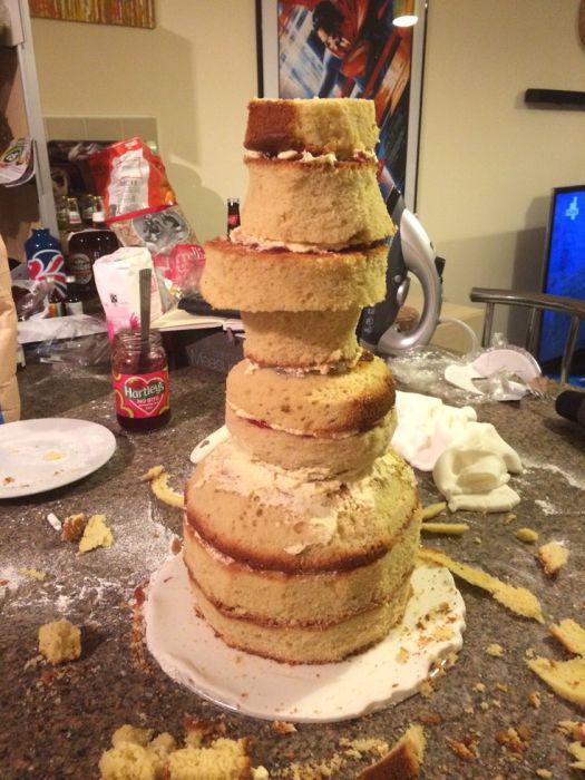 Как сделать необычный торт