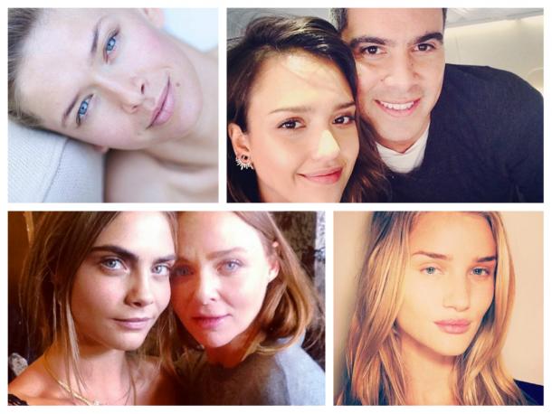 Jennifer aniston no makeup selfie