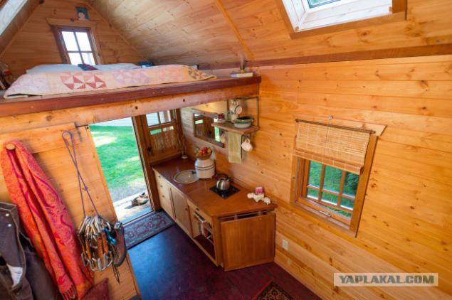Дачный домик своими руками на 6 сотках