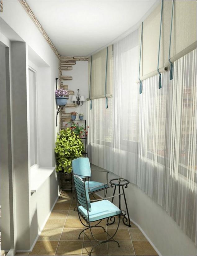 Дизайн балконов квартир фото