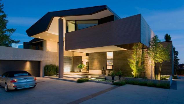 Moderna casa unifamiliar con terraza en la azotea p gina 1 for Casas modernas acogedoras