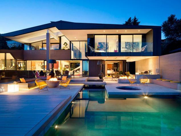 Moderna casa unifamiliar con terraza en la azotea p gina 1 for La casa de la azotea