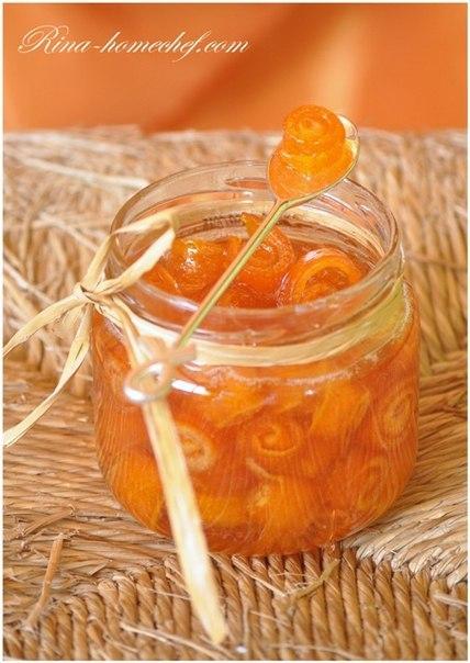 Рецепт апельсиновое варенье с корочками