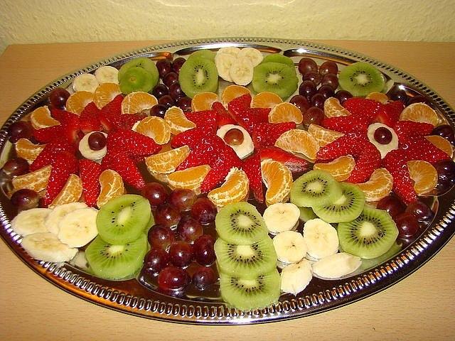 Frutas Y Verduras Para Decorar Platos Congeladas